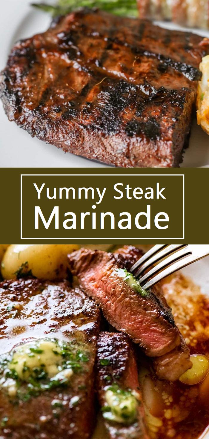 Recipe Yummy Steak Marinade Steak Marinade Recipes Steak