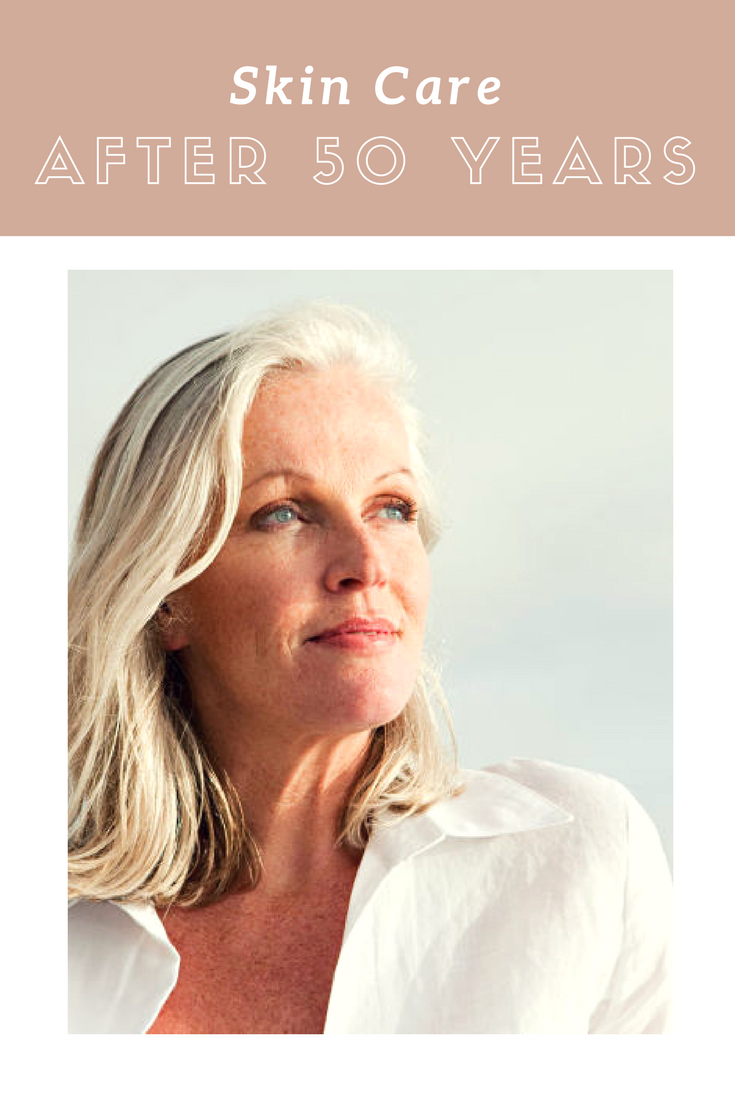 Skin care after 50