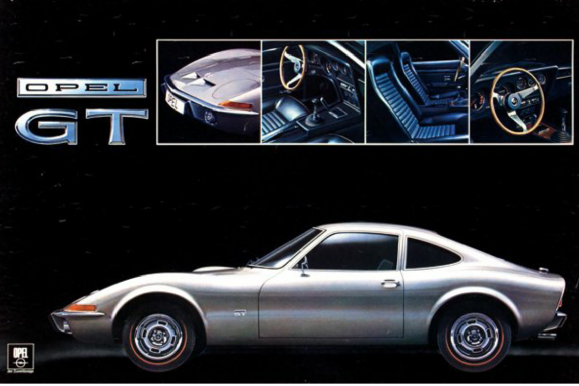 Opel Gt Opel Pinterest Cars Sports Cars And Chevrolet - Sports cars posters