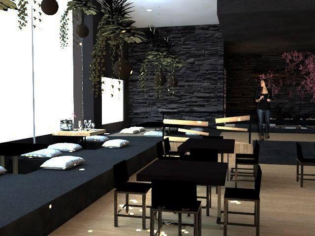 Rhinoceros Program Restaurant Architecture Interior Design 3d Plan