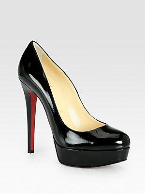 quality design d3f14 48fa8 classic beauty <3 Christian Louboutin Bianca Patent Leather ...