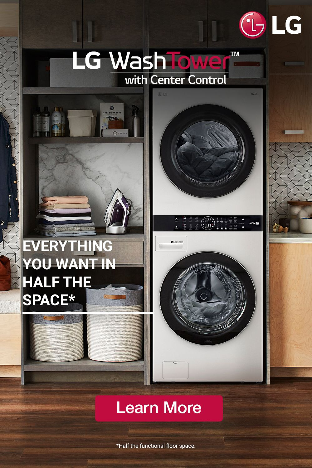 It Does More Than Just Save Space Laundry Room Layouts Small Laundry Room Makeover Laundry Room