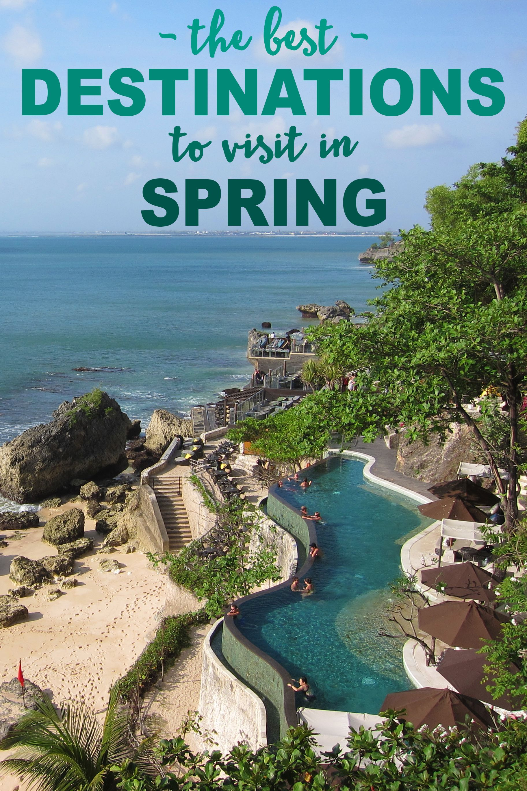 The Best Destinations to Visit in Spring  Spring travel