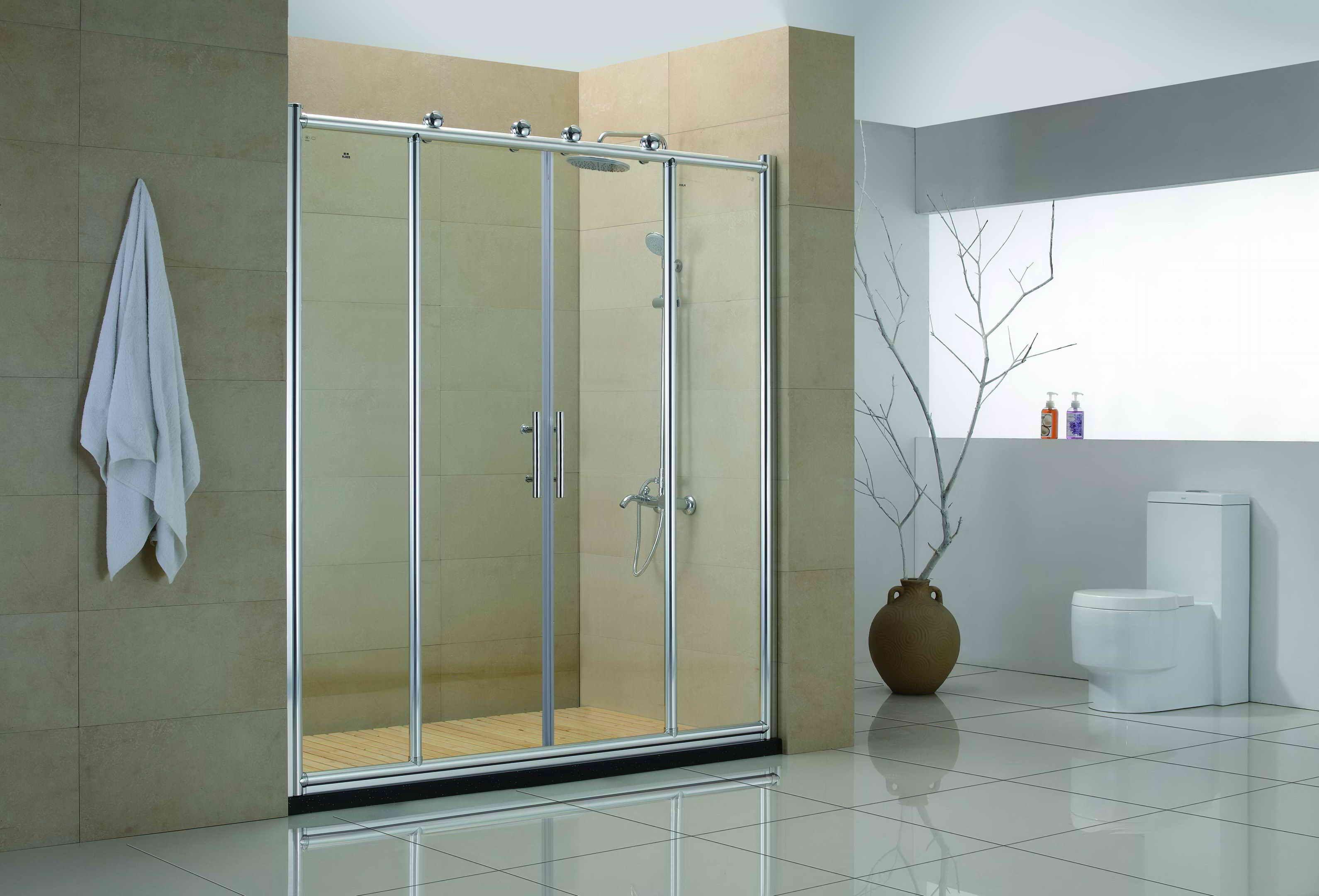 Dusche Glas Badewanne Schiebe Türen Badewanne, Glastür