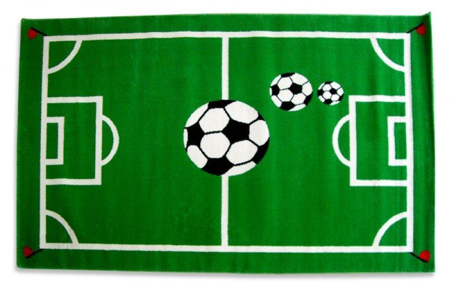 Ongekend Vloerkleed voetbal   Jongens voetbal kamer, Kinderkamer, Voetbal DB-73
