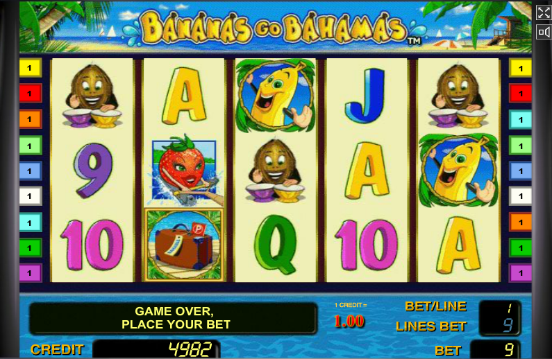 Игровые автоматы бананы на багамах играть бесплатно play online casino games for free vegas