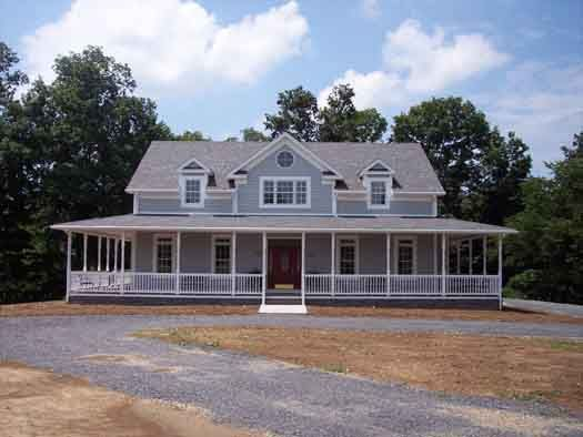 country style house plans 2098 square foot home 2 story 3 bedroom and - 2 Story Country House Plans