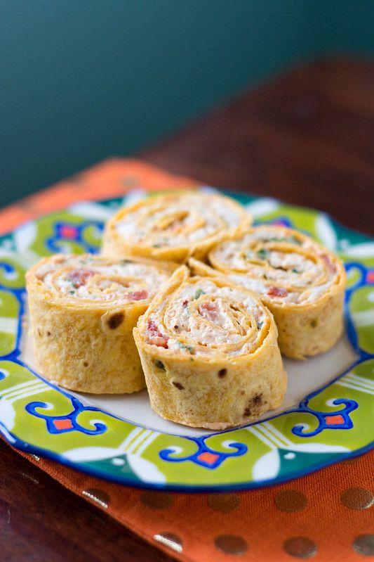 Chicken Enchilada Pinwheels Recipe Chicken Enchiladas Food Recipes Food