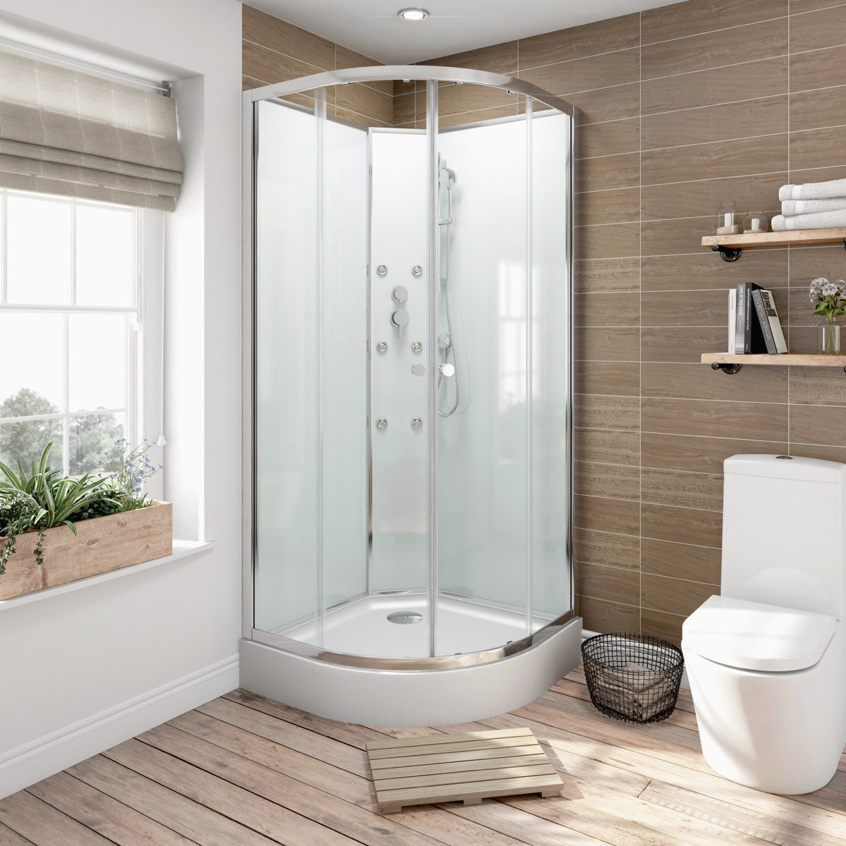 See Our 900 X 900 Glass Backed Shower Cabin Plus Other Enclosed Shower  Units At VictoriaPlum