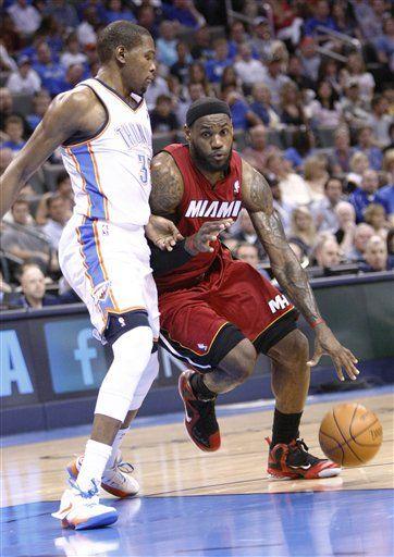 FULL GAME in HD! Miami Heat vs. Oklahoma City Thunder on www.nbadunks.org
