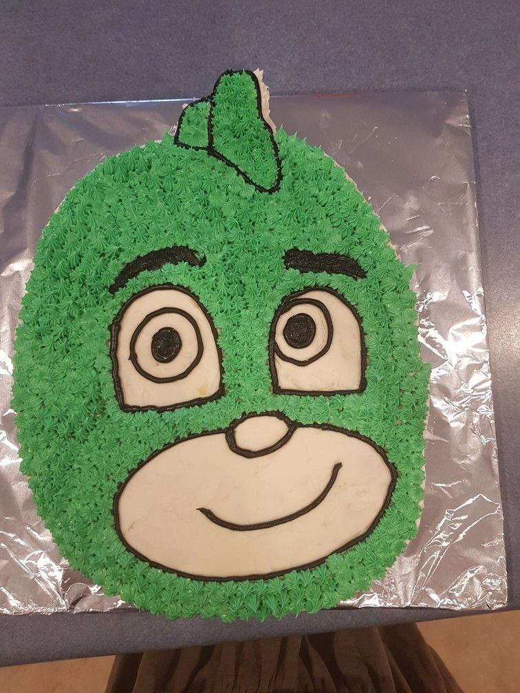 Gekko Cake Pj Masks Pj Masks Birthday Cake Pj Masks Birthday