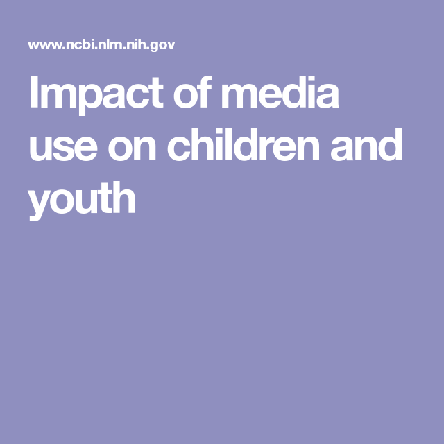 television influence on youth