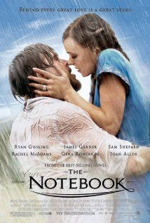 The movie focuses on an old man reading a story to an old woman in a nursing home. The story he reads follows two young lovers named Allie Hamilton and Noah Calhoun, who meet one evening at a carnival. But they are separated by Allie's parents who disapprove of Noah's unwealthy family, and move Allie away. This is one of the most romantic all around sweet movies based on the Nicholas Sparks book.