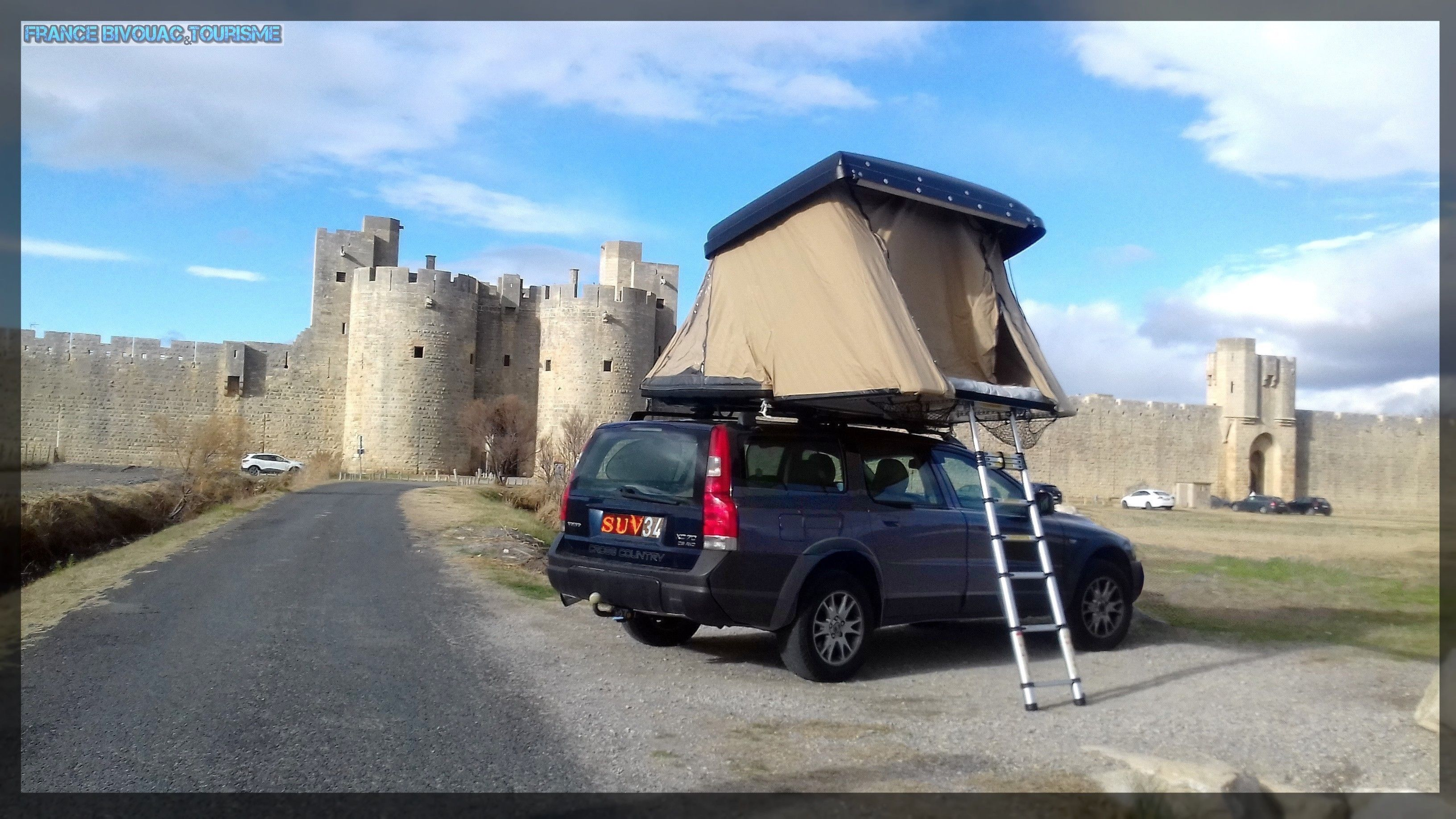 dachzelt hussarde quatro familie f r 4 personen camping. Black Bedroom Furniture Sets. Home Design Ideas