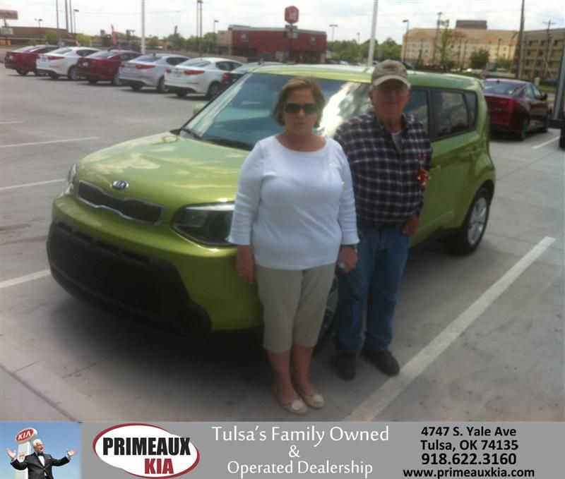 Congratulations to Stickland on your Kia Soul