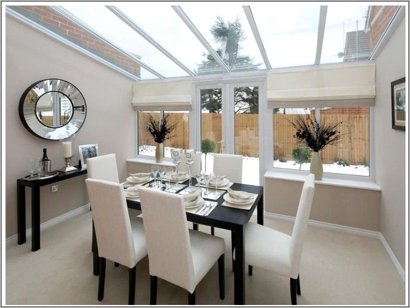 Greenish Gray Cabs With Black Countertops Conservatory Www Symm Co Uk Green Dining Room Conservatory Dining Room Farmhouse Dining