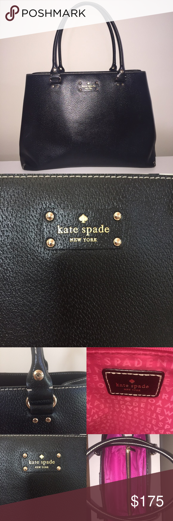 Kate Spade briefcase Clean lines and smart details make this Kate ...