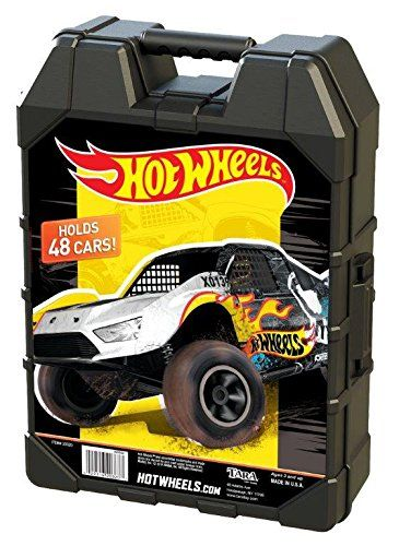 14.99  Sale s Hot Wheels 48- Car storage Case With Easy Grip Carrying Case   discount  gift  amazon  baby  girl  boy  child  fashion  holiday  clothing  ... 70946ff9c