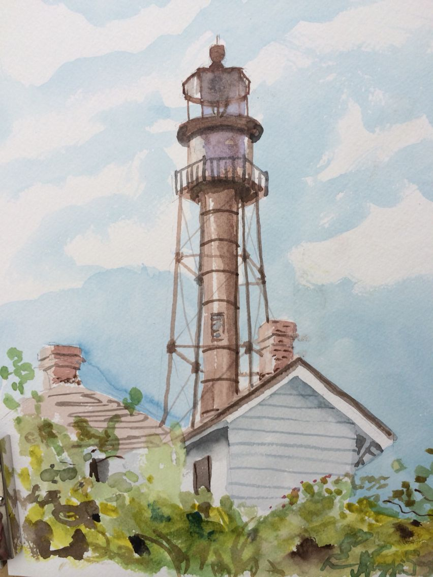 Pin By Maggii Sarfaty Fine Art On Sanibel Island Watercolor Art