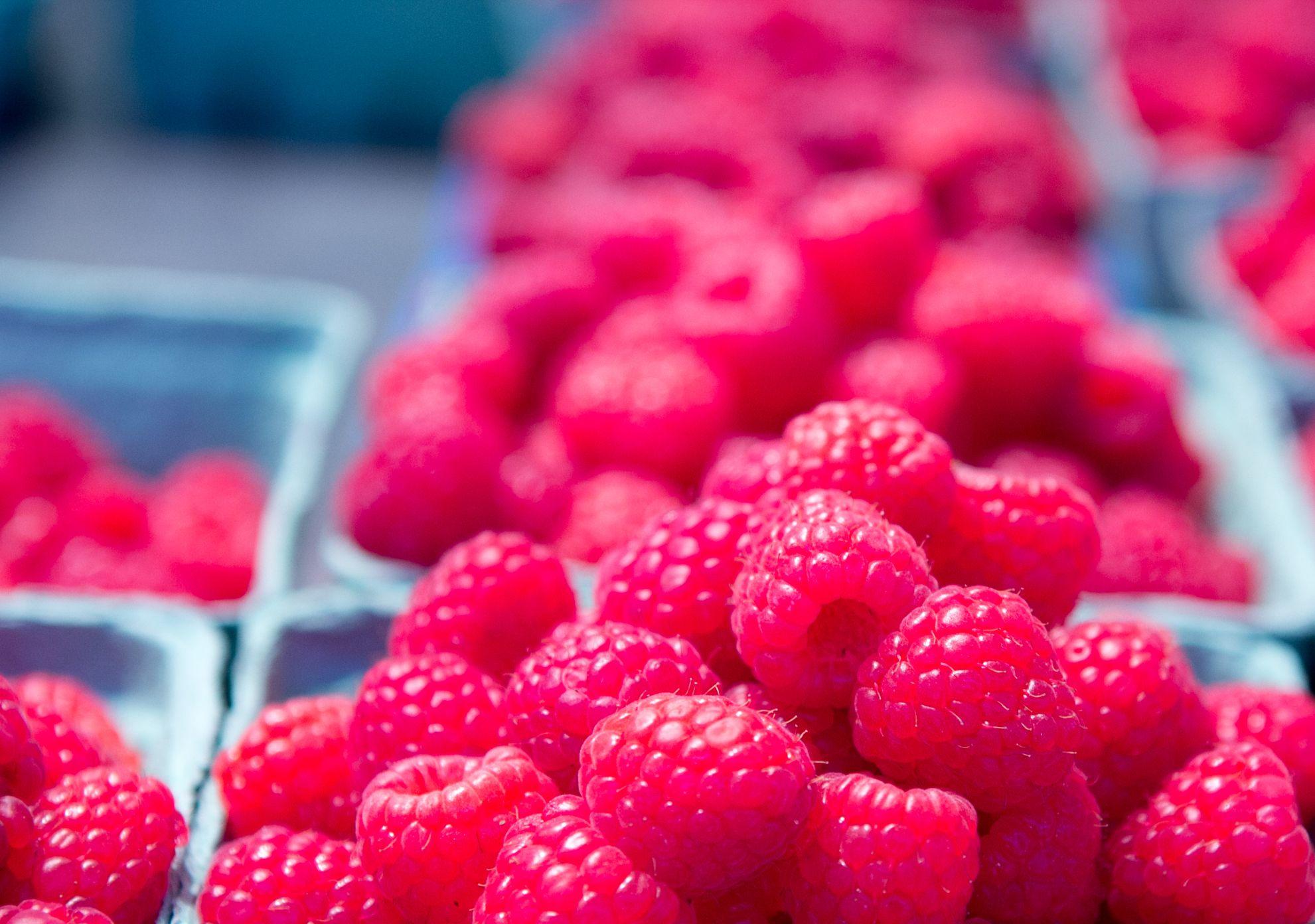 Respberries @ Granville Island Public Market