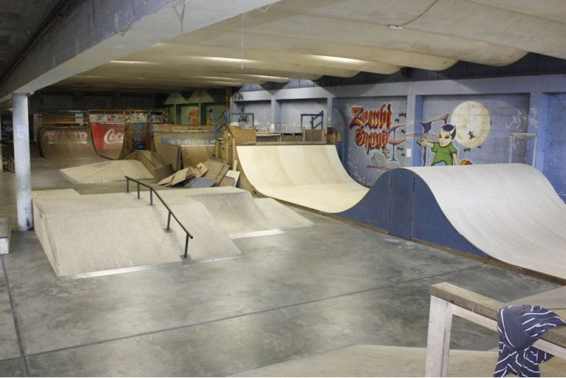 indoor skateboard park obstacles Google Search