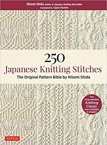Pdf Download 250 Japanese Knitting Stitches The Original Pattern