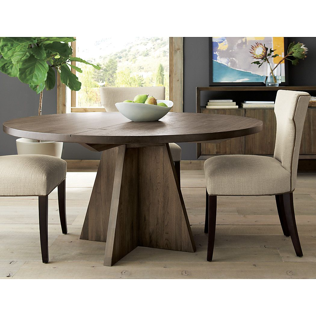 Monarch Shiitake 60 Round Dining Table Reviews Crate And