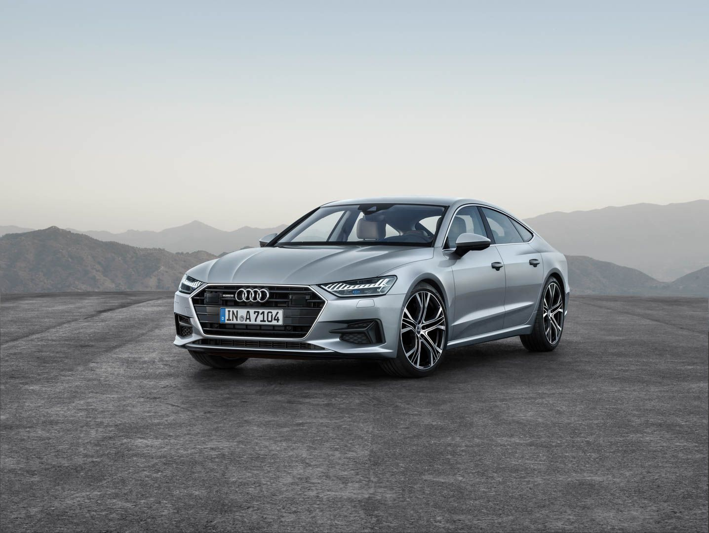 World Premiere 2018 Audi A7 Second Generation Of Beauty Audi