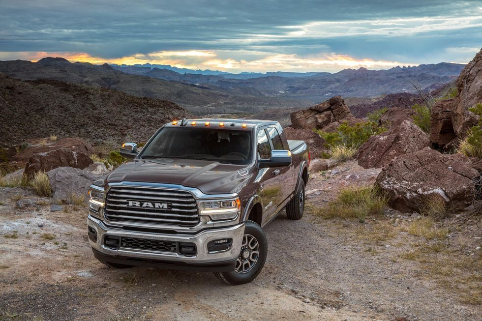 2019 Ram 2500 3500 Review Pricing And Specs In 2020 Laramie Lamborghini Company Ford Super Duty Trucks