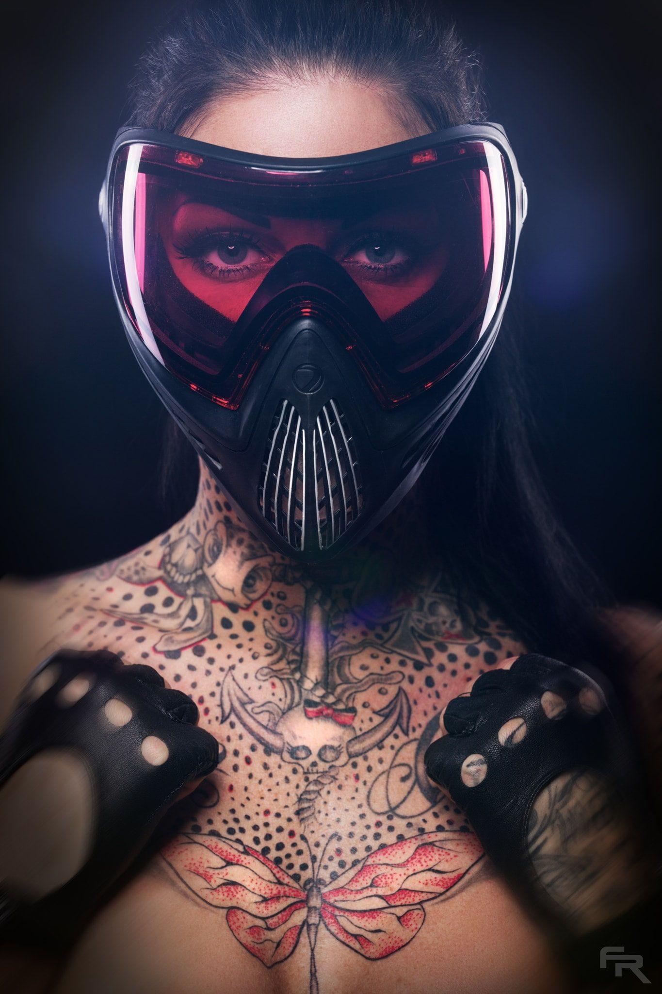 Fr Pixx Face Tattoo Mask Women Model 500px 1080p Wallpaper Hdwallpaper Desktop Black Tank Top Women White Tank Top Women Model Tattoo wallpaper hd 1080p