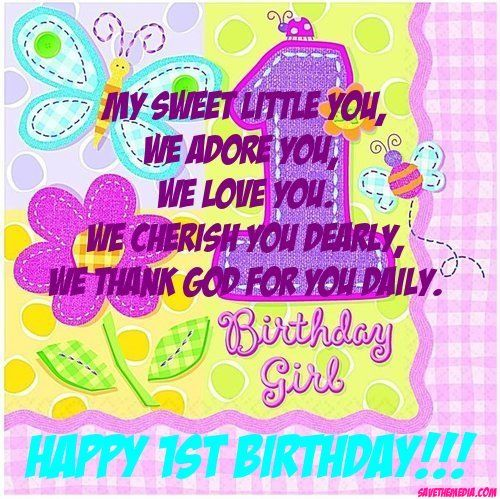 1st birthday wishes for baby girl angels pinterest