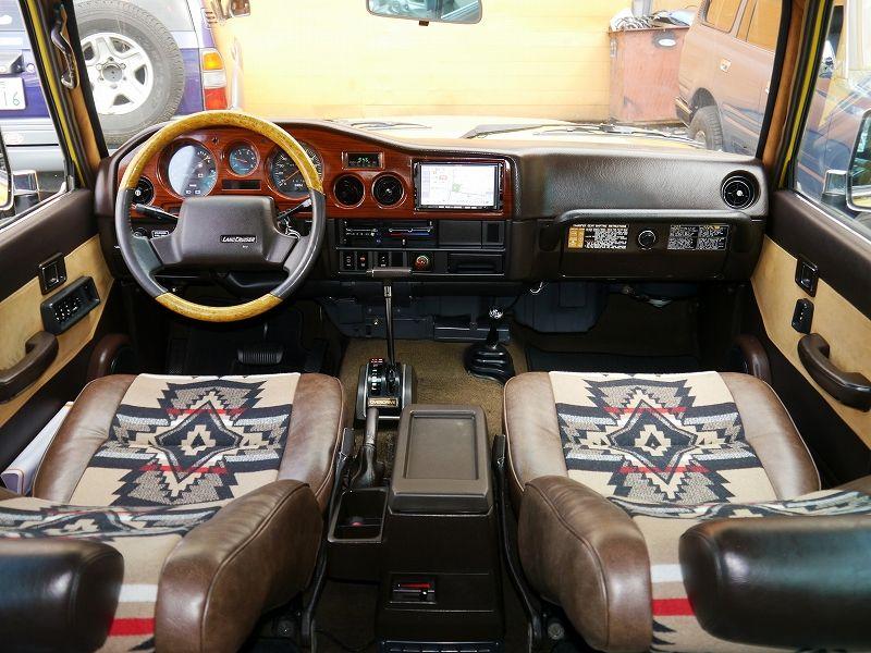 Usトヨタ ランクル60 左ハンドル カスタムデモカー内装 グランドワゴニア ランドクルーザー ランクル60