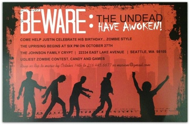 1000+ images about Liam's Zombie Party on Pinterest | Dinner ...