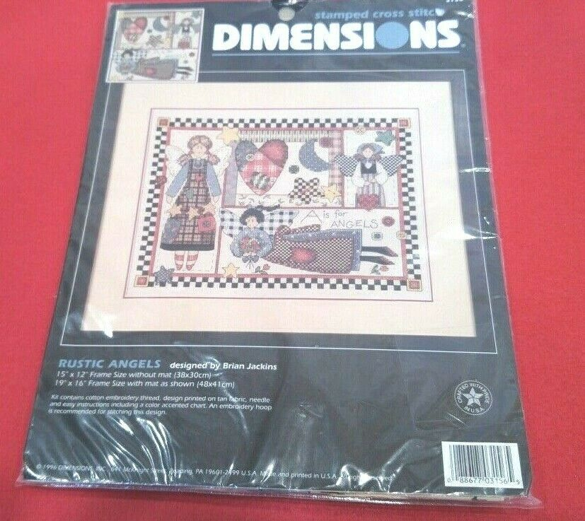 Cross Stitch Emboridery Kits Needlecraft Pin Cushion Janlynn DMC etc.
