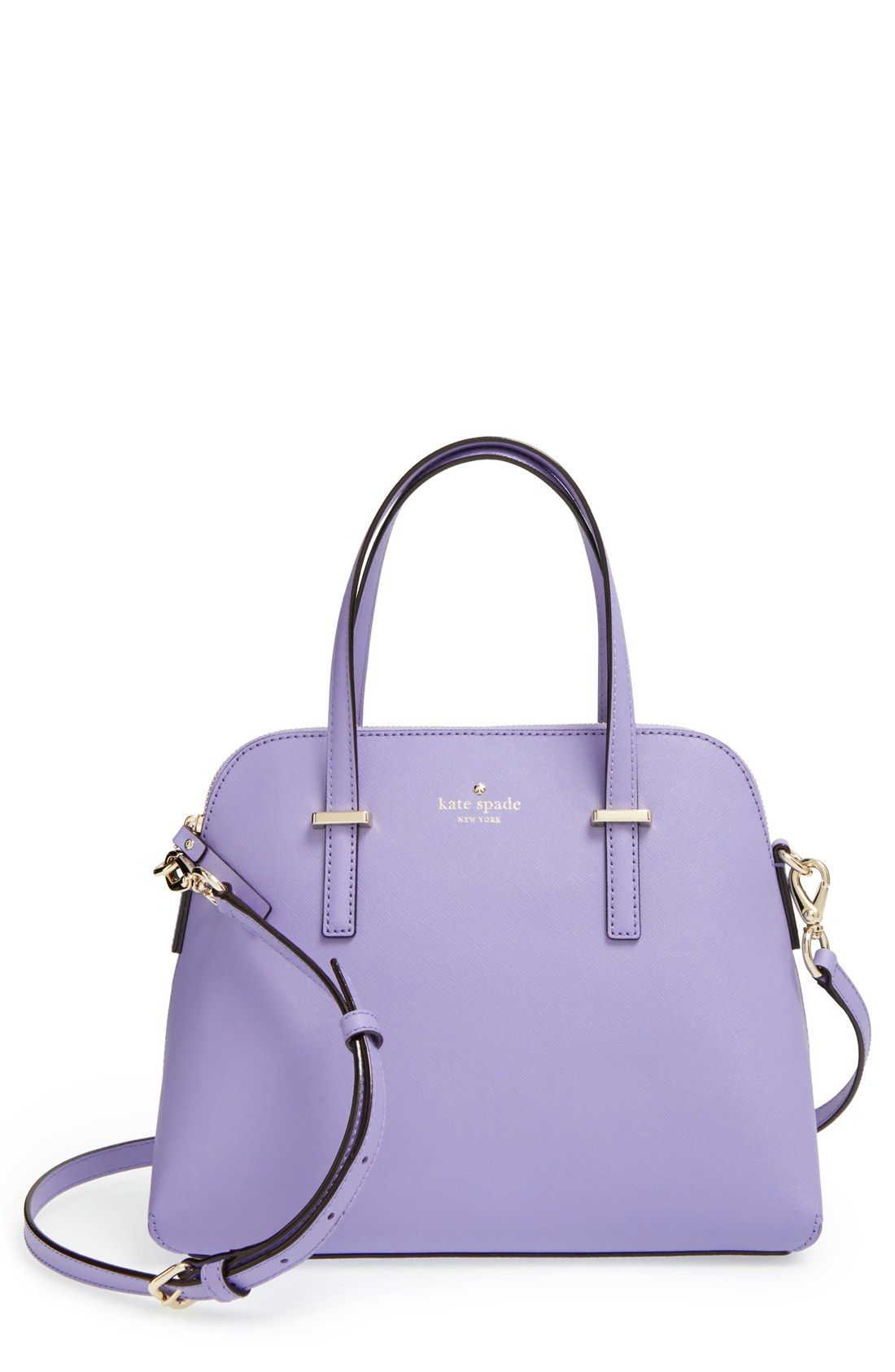 0e4eacbfcb35 This lavender Kate Spade satchel is too cute! | Women's Accessories ...