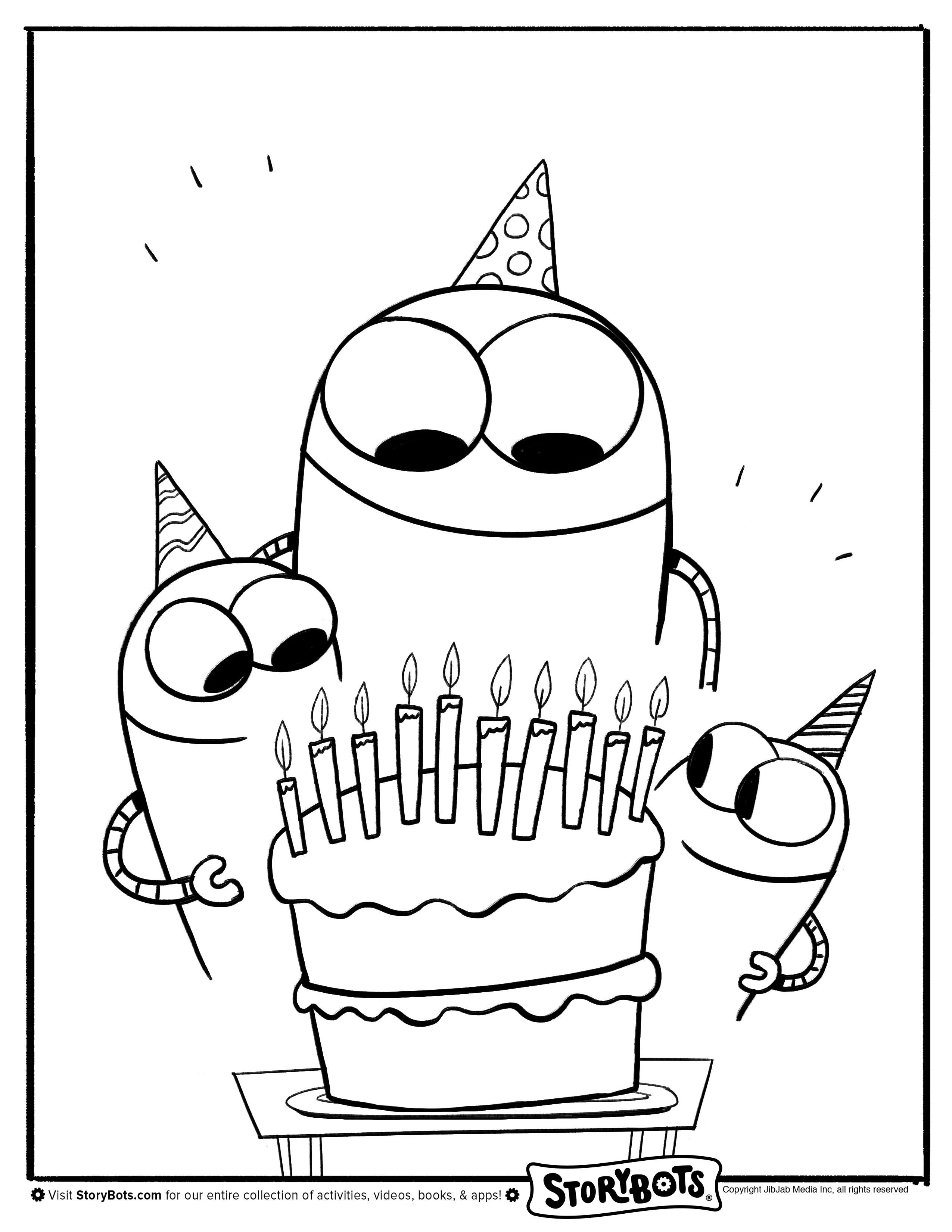 Storybots Coloring Pages - Best Coloring Pages For Kids in ...
