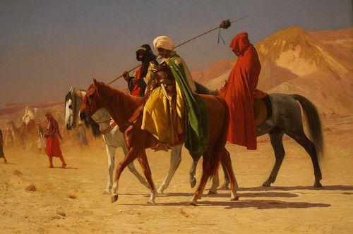 Arabs Crossing the Desert - Gérôme - Met, New York