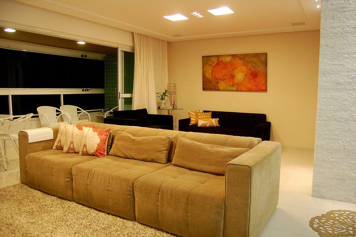 Apartamento 140m2 Olinda Home Decor Decora O Arquitetura  -> Sala De Estar Apartamento Decoracao