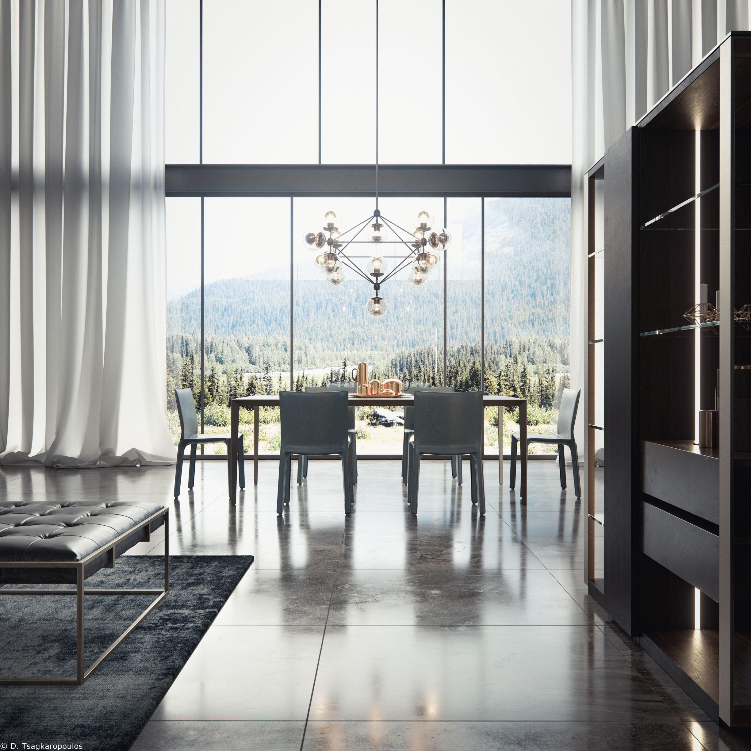 Tisettanta Metropolis Photorealistic 3D visualization