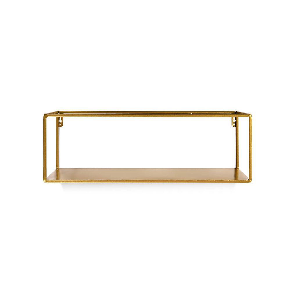 Wandregal Aus Metall L 45cm Gold Wandregal Regal Und Metall