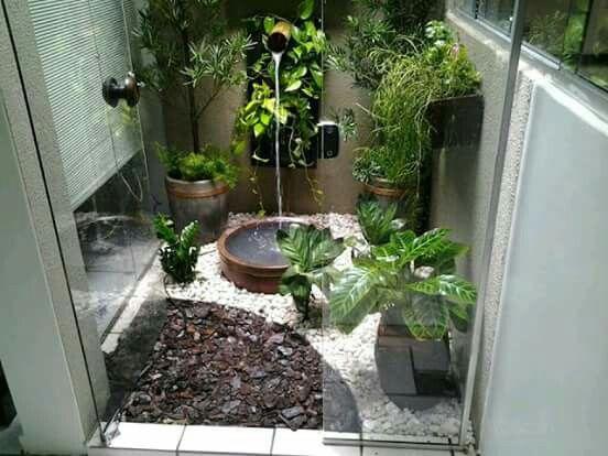Jardines Interiores | jardin | Pinterest | Jardín interior, Jardín y ...