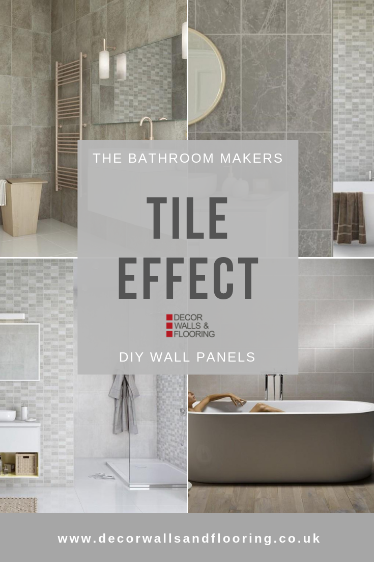 View Our Extensive Range Of Tile Effect Wall Panels Incredibly Easy To Install Makin Waterproof Bathroom Wall Panels Bathroom Wall Panels Wall Paneling Diy