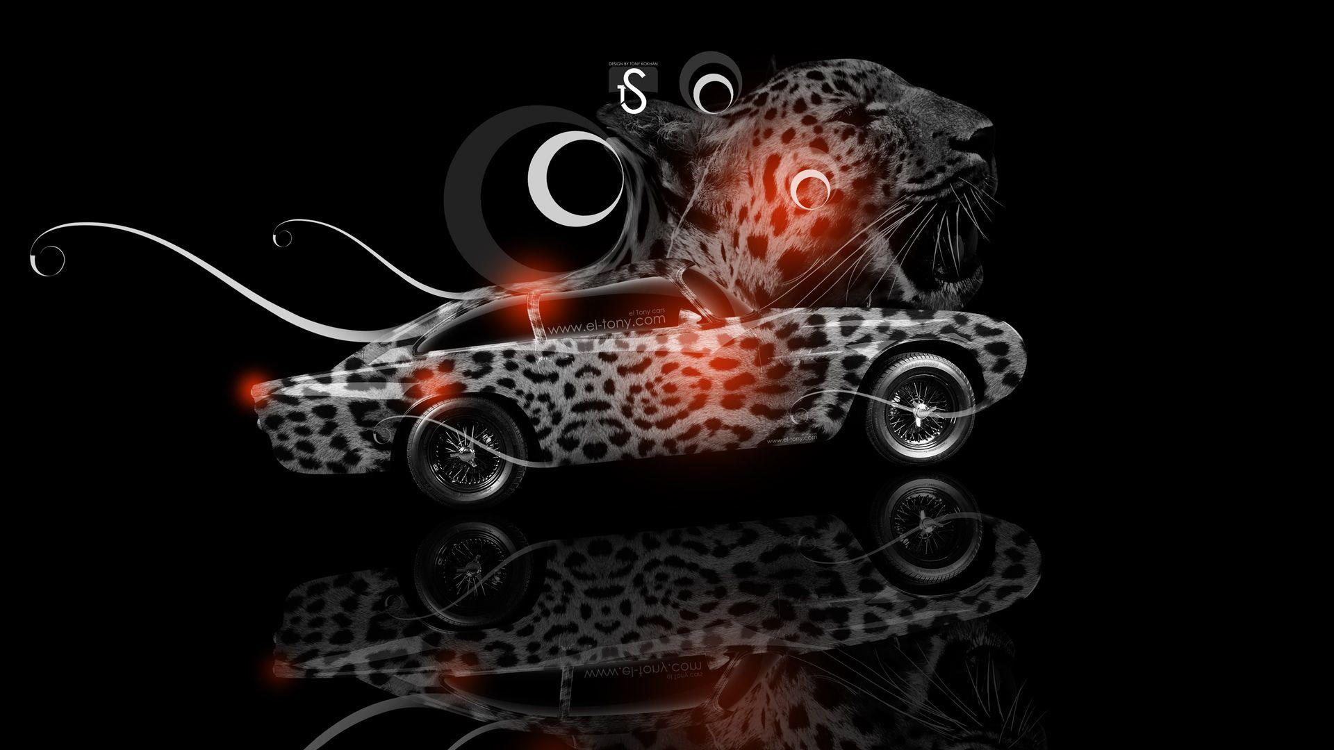 Nice Neon Leopard Wallpaper | Aston Martin DB4 Fantasy Leopard Car 2013 Orange Neon HD Wallpapers  .