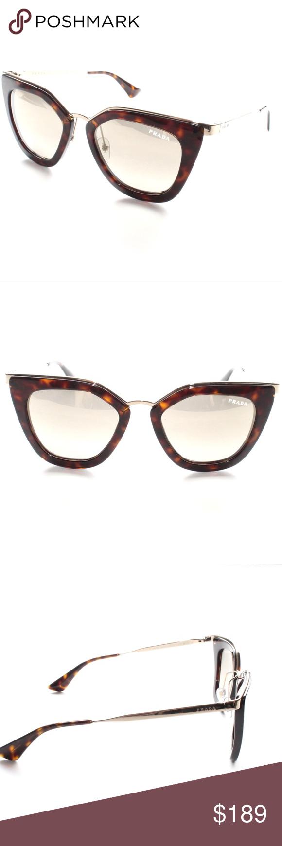 d4463dbe6e67 ... get prada sunglasses spr 53s 2au 3d0 havana gold brown brand new 100  authentic 7f8a0 99320 ...
