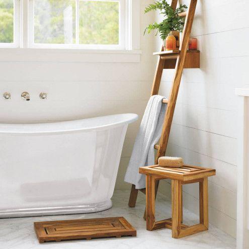 Scrap Teak Bath Collection | Bathroom collections, Teak and Shelves