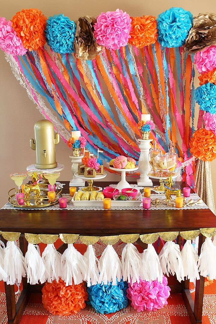 Fall Fiesta Bridal Shower Ideas