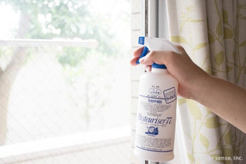 アルコールやエタノールで消毒 消毒スプレーの使い方と掃除の仕方