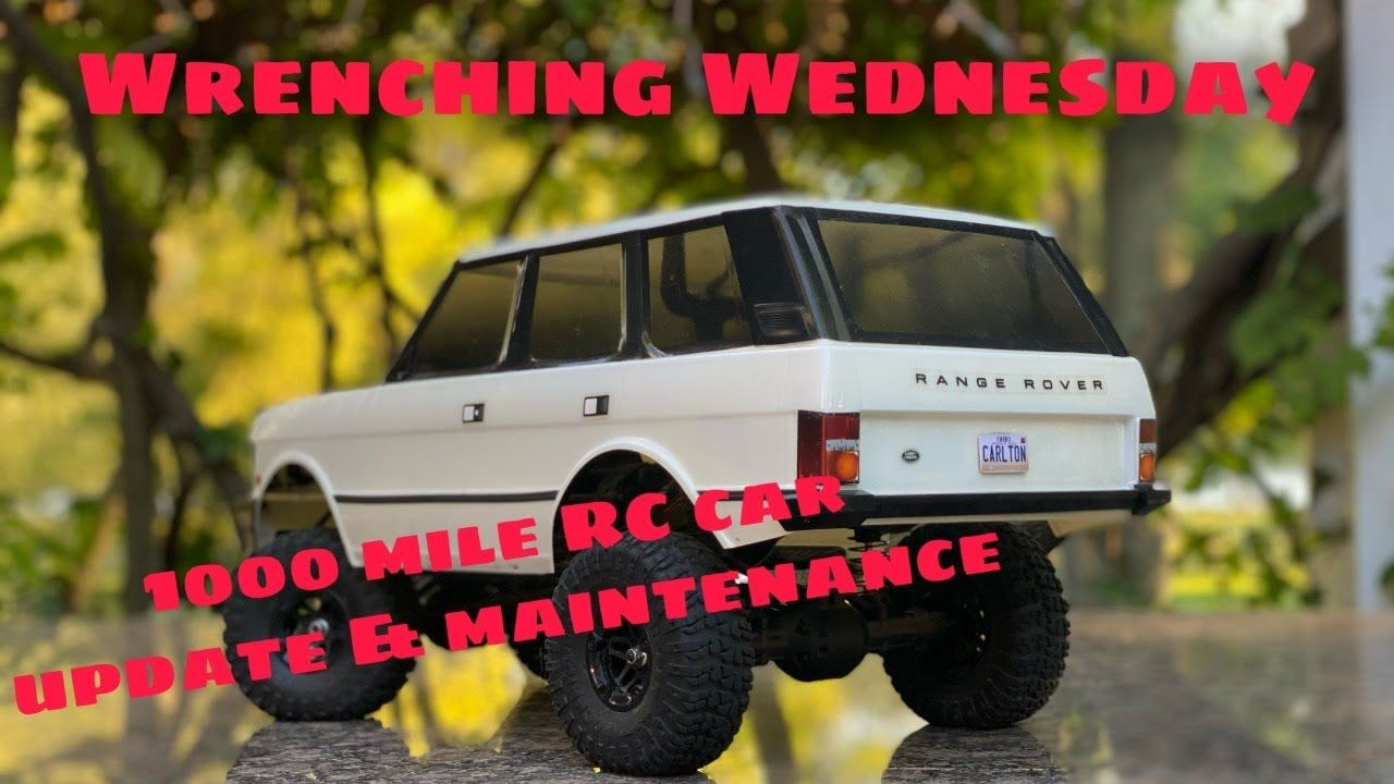 Wrenching Wednesday! 1000 Mile RC update and maintance