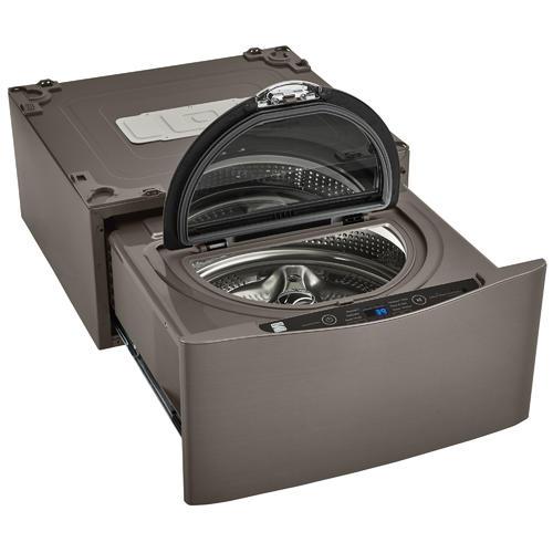 Kenmore Elite 51973 1 0 Cu Ft Pedestal Washer Metallic Silver