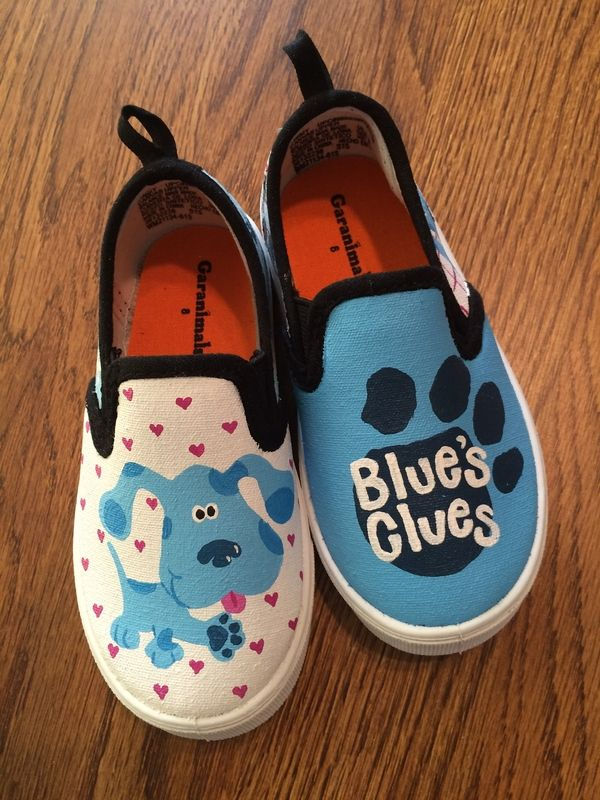 blues clues shoe tie song - YouTube